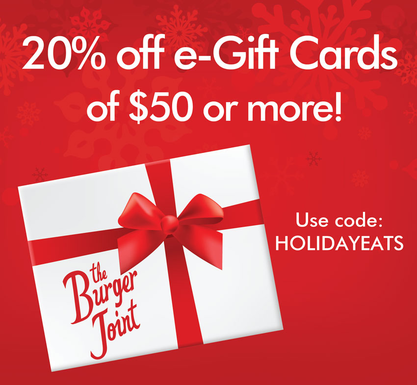 Burger Joint Gift Card